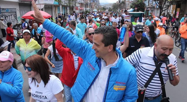 Persecución total a delincuentes y criminales propone Juan Carlos Saldarriaga en Soacha