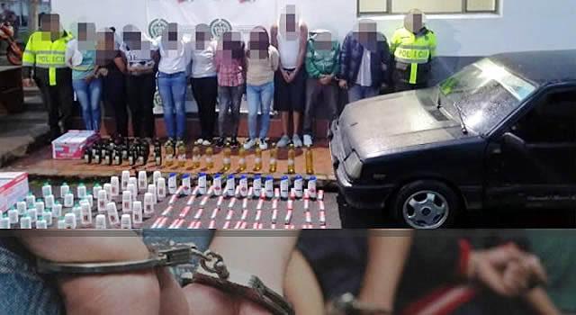 """Desarticulada banda delincuencial """"Los Extranjeros"""" en Zipaquirá"""