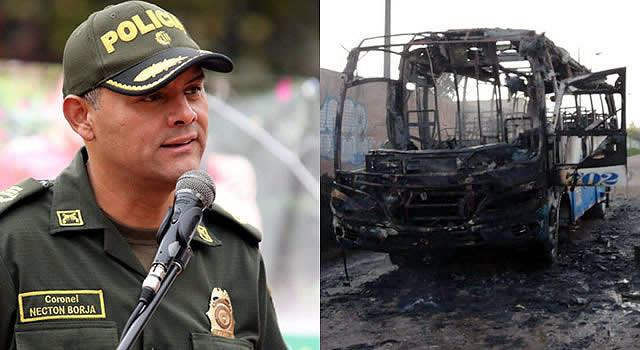 Capturan posibles responsables de quema de buses en Soacha