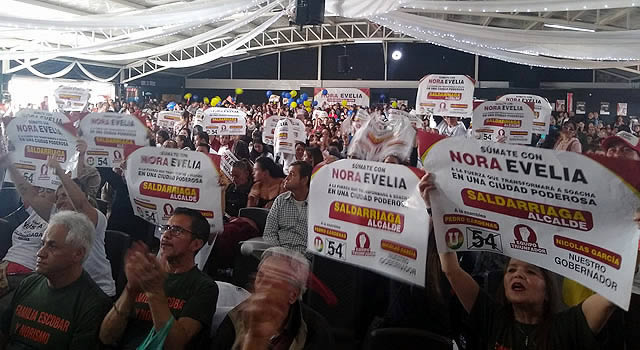 Equipo de Nora Evelia Escobar  ratificó su apoyo a Juan Carlos Saldarriaga