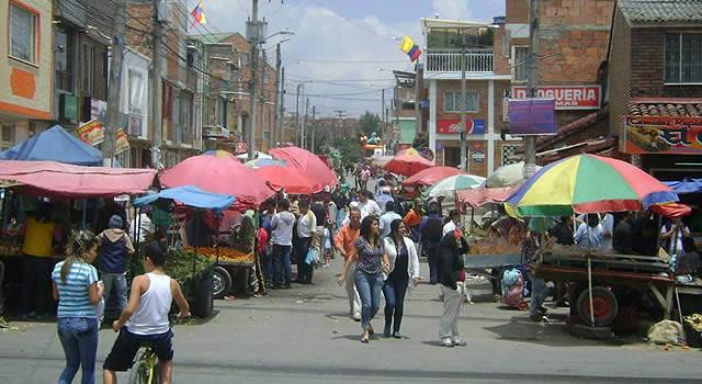 Vendedores informales de Soacha se movilizan para exigir sus derechos