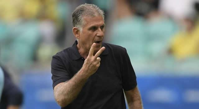 Queiroz se mostró «contento» tras el empate de Colombia con «el mejor Brasil de los últimos años»