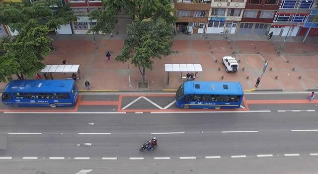 Policías de Ciudad Berna no recibieron denuncias de pasajeros atracados en  bus del SITP