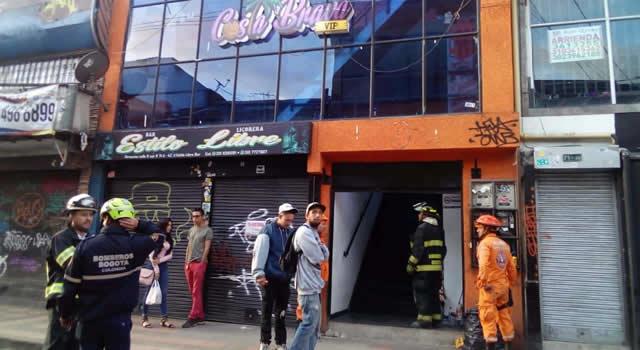 Seis personas heridas por colapso de discoteca en Bogotá
