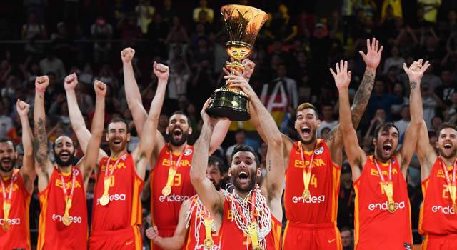 España se quedó con el título mundial de baloncesto