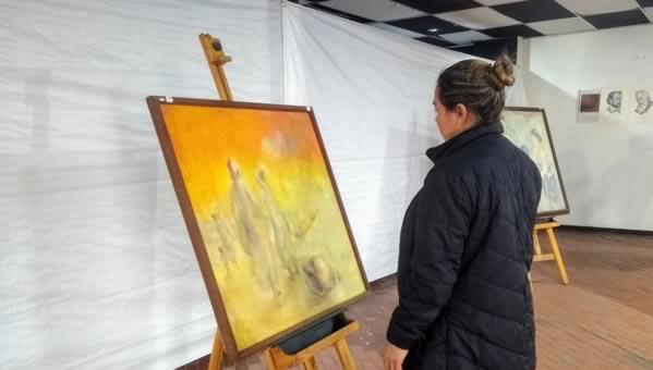 Exposición artística exalta obra del maestro  Alberto Pino Gil