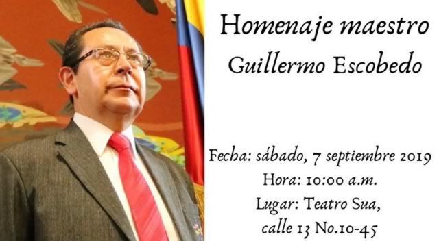 Soacha rinde homenaje a 30 años de trabajo del maestro Guillermo Escobedo