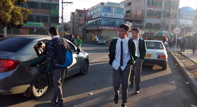 La informalidad predomina en los barrios de Soacha por paro de transporte