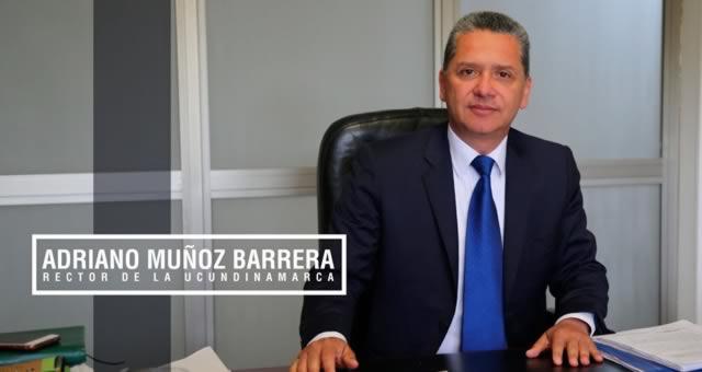Adriano Muñoz Barrera reelegido rector de la Universidad de Cundinamarca
