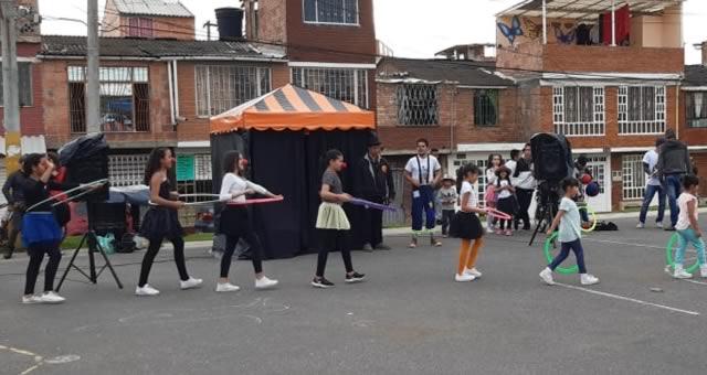 'Malabareando ando' se toma las calles de la comuna uno de Soacha