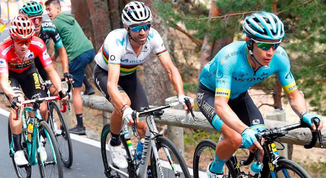 De infarto; así quedaron los colombianos en la general de la Vuelta a España