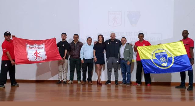Libertad FC  de Soacha  une lazos con América de Cali