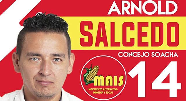 Arnold Salcedo quiere darle voz al pueblo en el Concejo de Soacha