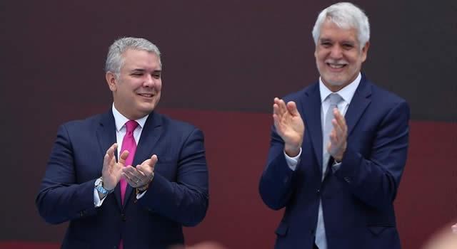 Duque invita a dejar discusiones y pide apoyar obras del metro de Bogotá