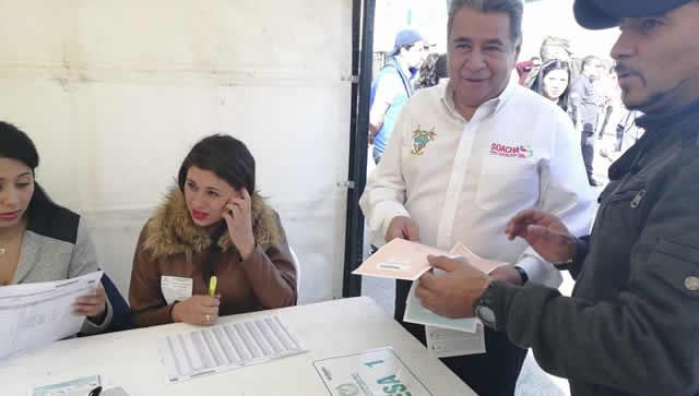 Alcalde de Soacha y sus posibles sucesores ya ejercieron derecho al voto