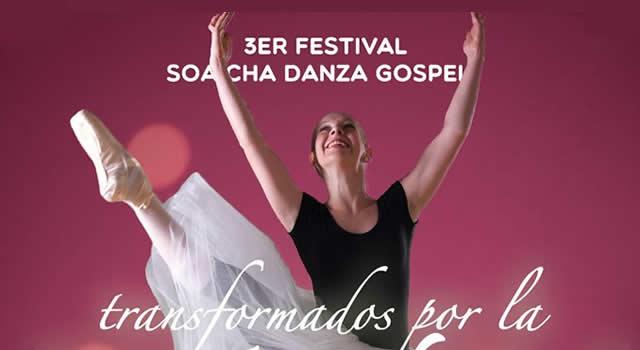 """Llega el Tercer Festival Soacha Danza Góspel """"Transformados por la Danza"""""""