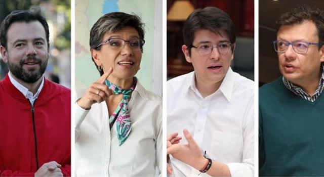 Galán puntea última encuesta en Bogotá. Uribe alcanzó a Claudia López