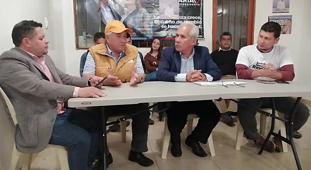 Por jornadas e ítems, José Ernesto Morales socializa su programa de gobierno en Soacha