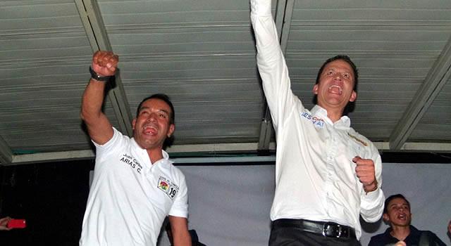 Nutrida asistencia al cierre de campaña de Juan Carlos Arias