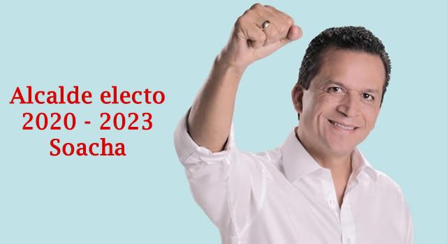 Juan Carlos Saldarriaga es el nuevo alcalde de Soacha