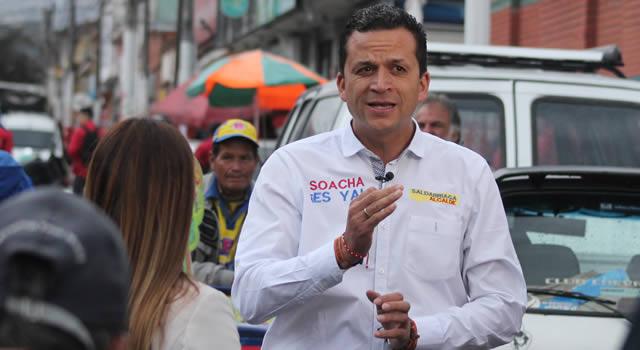 """Después de la pandemia vamos a tumbar casas"": alcalde de Soacha a propósito de las invasiones"