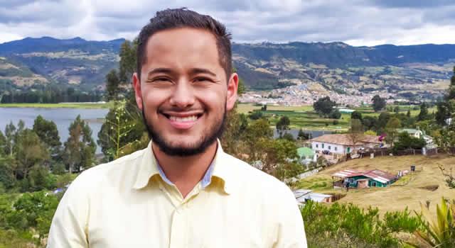 Nicolás Roldán,  el  verde#13 que quiere ser el concejal más joven de Sibaté