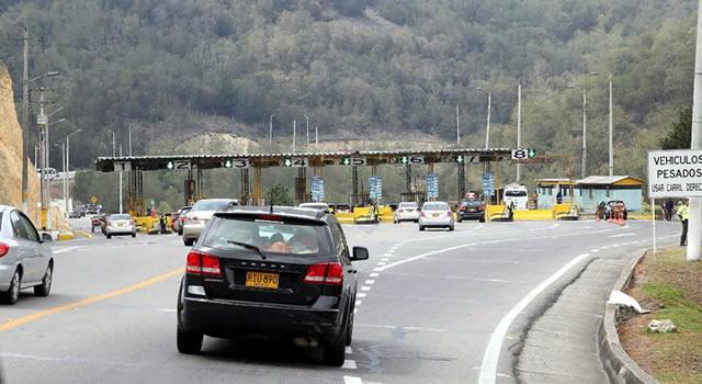 Cerca de 3 millones de vehículos circularán  por las carreteras de Cundinamarca este puente festivo