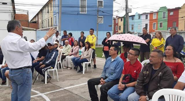 Socializan obras de impacto social, deportivo y recreativo en Soacha