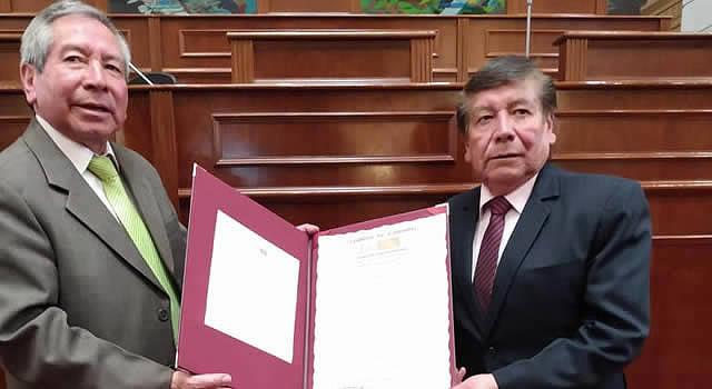 Mención de reconocimiento al Instituto Tecnológico  los Andes de Soacha