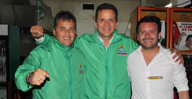 Con  propuestas  deportivas Ricardo Rodríguez realizó su cierre de campaña al Concejo de Soacha
