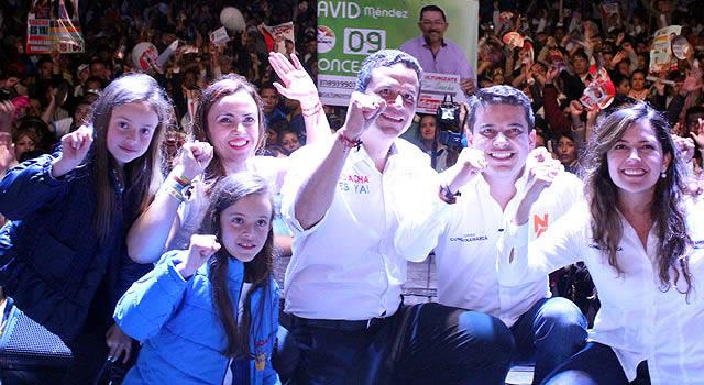Con 'Cacerolazo' Saldarriaga cerró su campaña a la Alcaldía de Soacha