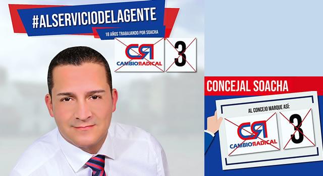 Terry Bogotá va por más gestión social en el Concejo de Soacha