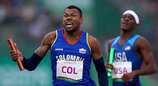 Anthony Zambrano gana medalla de plata para Colombia en los 400 metros planos