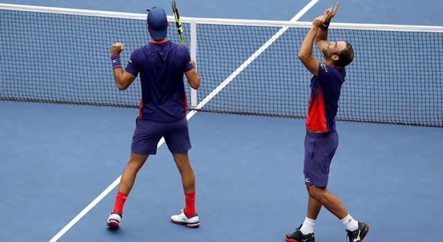 Cabal y Farah ganaron y terminarán el año como la pareja número uno de la ATP