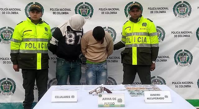 "Capturan a ""Los Mercaderes"" en Soacha"