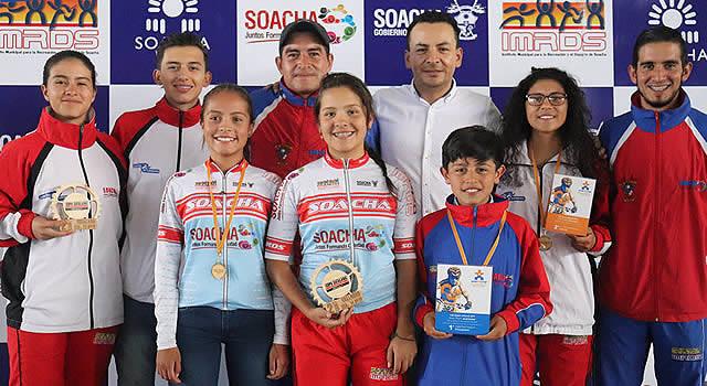 Ciclomontañistas  de Soacha fueron  protagonistas en Europa