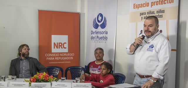 """En La Isla Cazuca se inagura """"La Madriguera"""", un espacio protector  para menores  colombianos y venezolanos"""