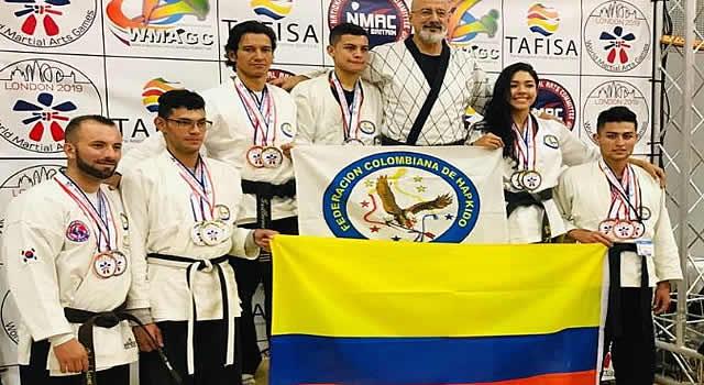 Soacha tuvo representación en los juegos mundiales de artes marciales