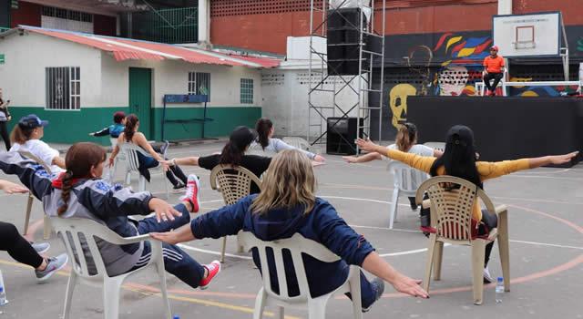 El receso escolar se convirtió en la semana de la cultura y el deporte para los docentes de Soacha