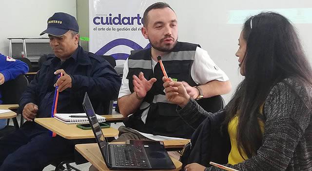 De Reino Unido y Manizales llega a Soacha «CuidArte»: El arte de la gestión del riesgo