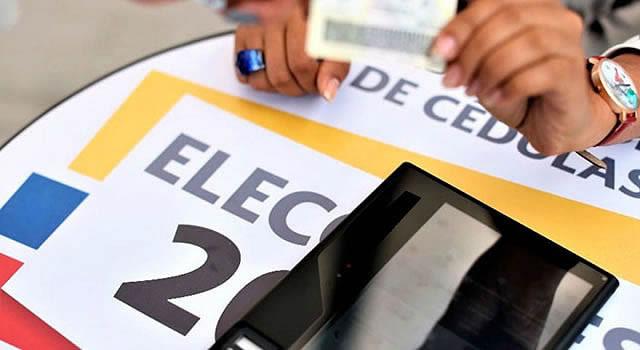 Historia de las  elecciones en Colombia