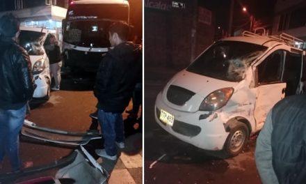 Accidente en el centro de Soacha por falta de reductores de velocidad