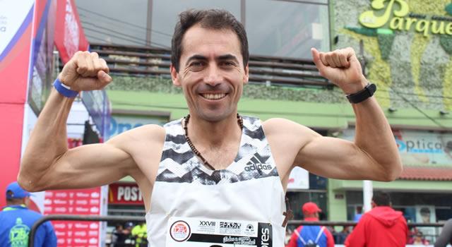 Ecuatoriano Bayron Piedra ganó  la XXVIII Carrera Atlética Internacional Soacha 12K