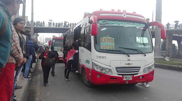 Transportadores de Soacha también toman medidas de protección frente a COVID-19