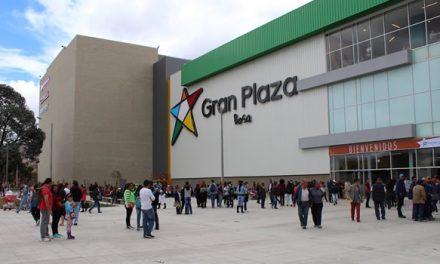 Gran Plaza Soacha, Bosa y Ensueño  cancela actividades de este sábado