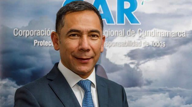 Luis Fernando Sanabria, nuevo director general de la CAR Cundinamarca