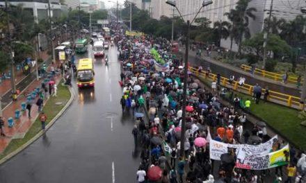 Partidos piden a sus militantes marchar pacíficamente el día del paro