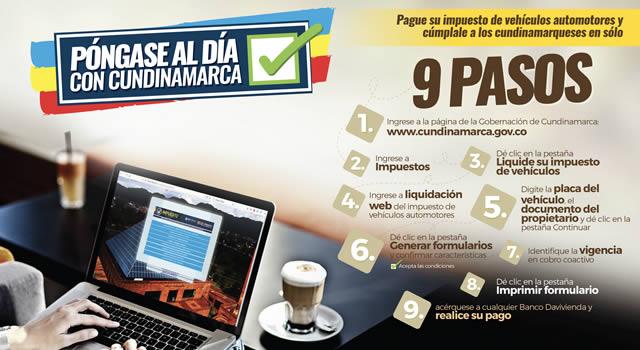 Cundinamarca ha recuperado más de $5.900 millones de contribuyentes morosos en el último año
