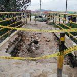 Punte Micos colapsó y dejó incomunicados a varios barrios de la comuna 2 de Soacha