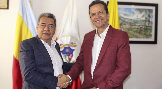 Eleázar González y Saldarriaga se reunieron para preparar empalme en Soacha